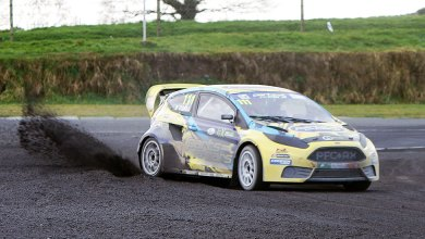 Rallycross. Photo: David McLachlan/fergus@motorsports.ie