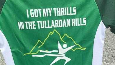 Tullaroan Marathon race top. Photo: Tullaroan Athletic Club/Facebook