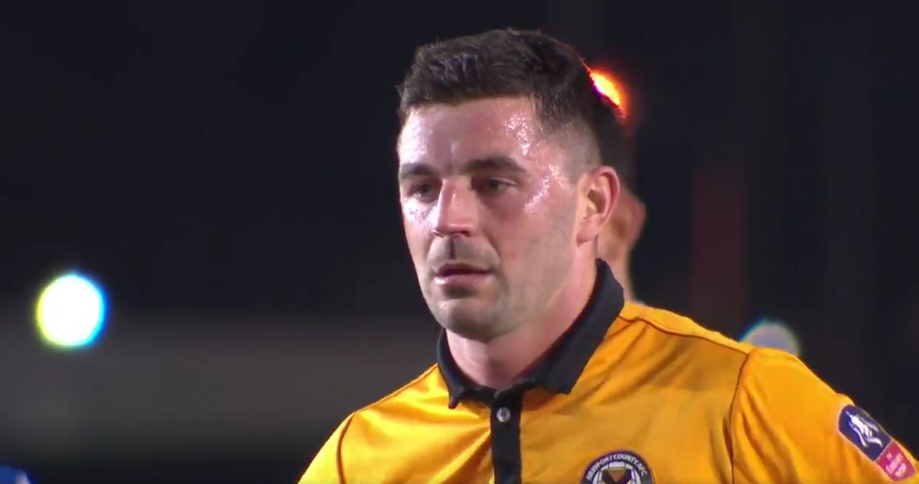 Padraig Amond Screenshot Credit: @emiratesfacup on twitter