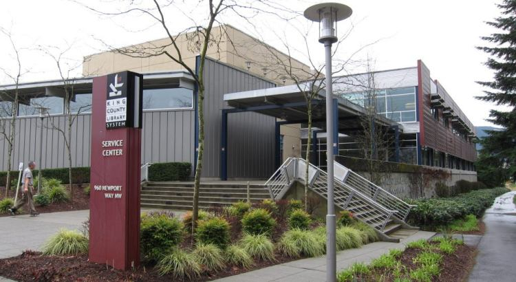 KCLS Service Center in Issaquah