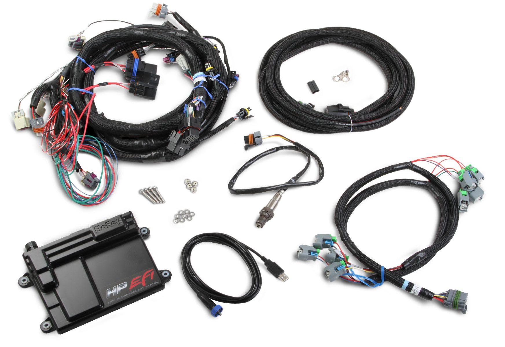 home shop wiring harness holley gm ls2 ls3 ls7 hp efi ecu harness kits [ 1745 x 1200 Pixel ]