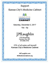 Shop til you Drop for KCMC!!  Kansas City's Medicine Cabinet