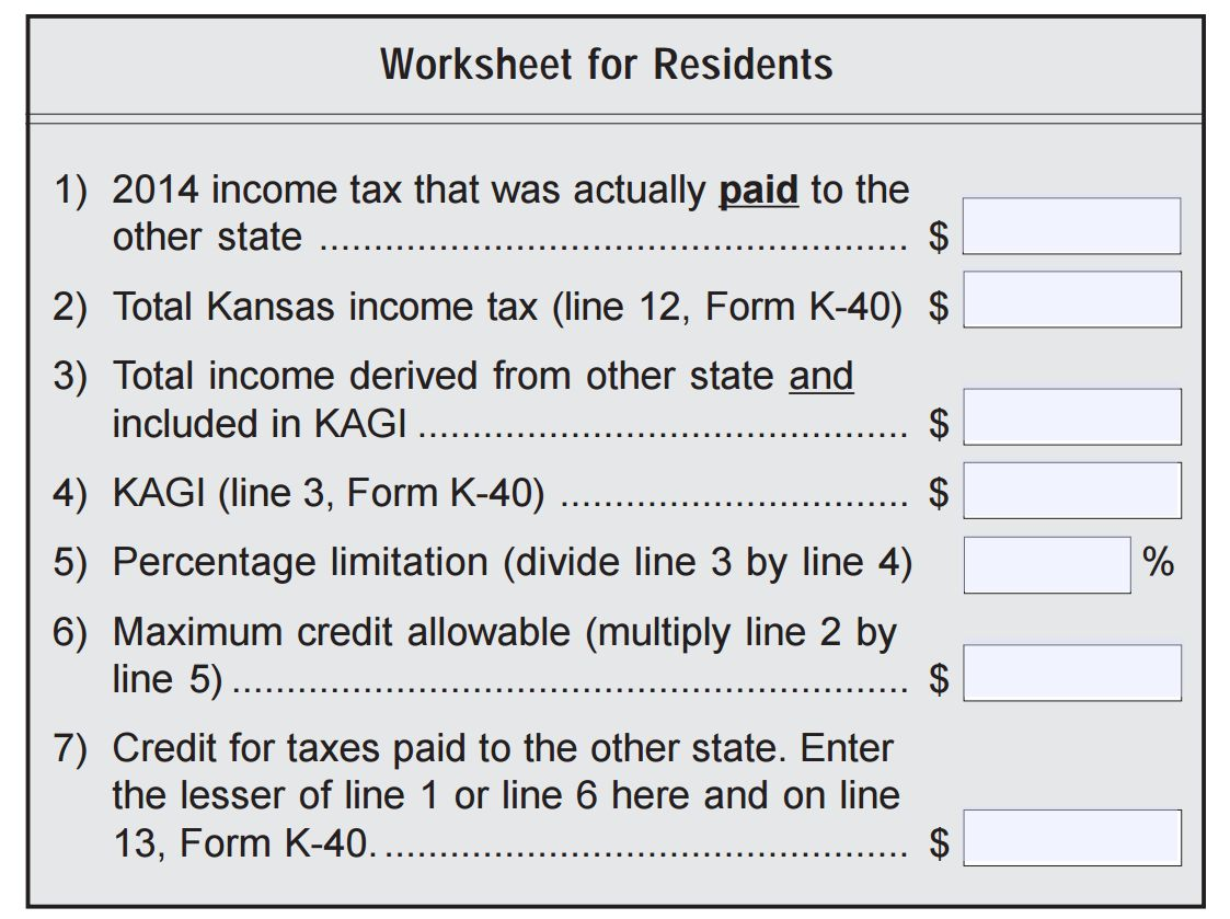 Refund For Kansas Residents Paying Kansas City Missouri