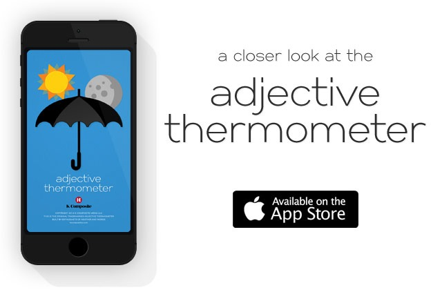 adjective-thermometer