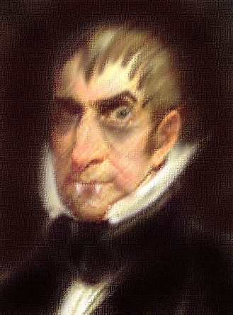 President William Henry Harrison (artist's rendering)