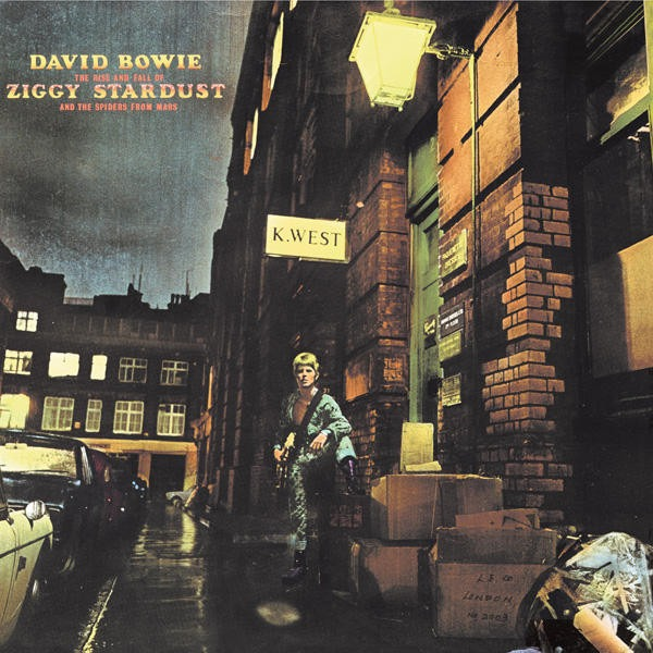 David Bowie The Rise and Fall of Ziggy Stardust and the Spiders from Mars 1972