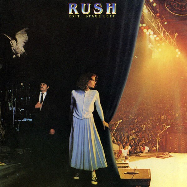 Rush Exit Stage Left 1981