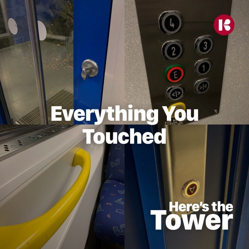 Everything You Touched - Here's the Tower