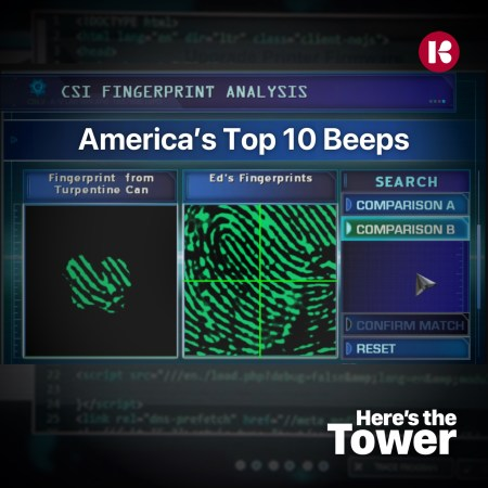 Here's the Tower - America's Top 10 Beeps