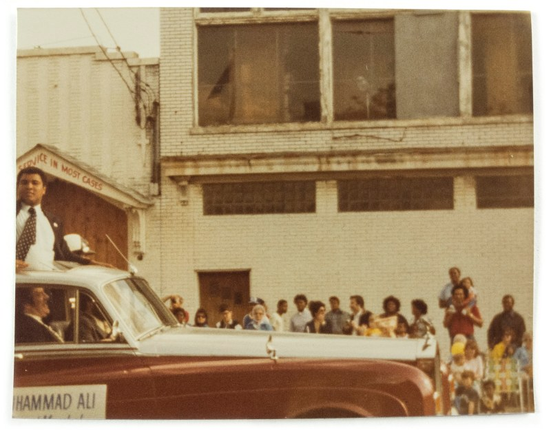 Muhammad Ali in the 1981 Pegasus Parade