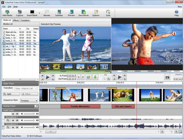 NCH VideoPad Video Editor Professional Crack Patch Keygen License Key
