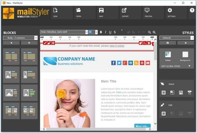 MailStyler Newsletter Creator Pro Full Version Crack