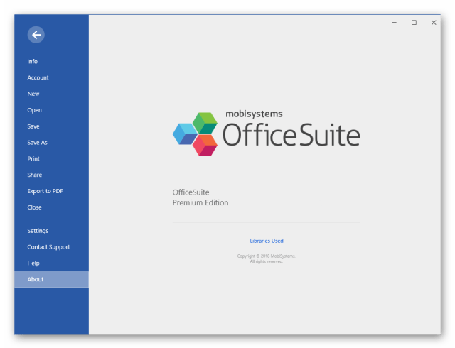 OfficeSuite Premium Edition Full Crack