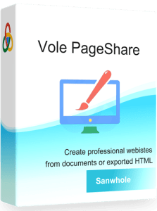 Vole PageShare Pro full crack