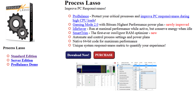 Bitsum Process Lasso Pro crack Patch