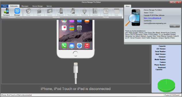 iDevice Manager Pro Edition Crack Serial Key