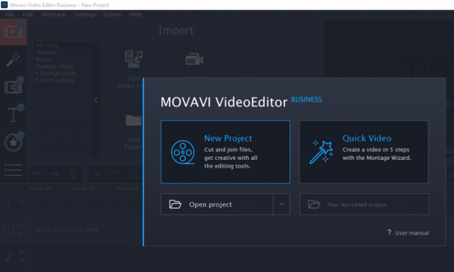 Movavi Video Editor Business Crack Patch