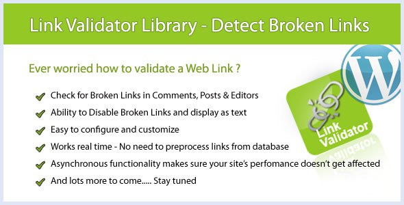 Web Link Validator Crack patch