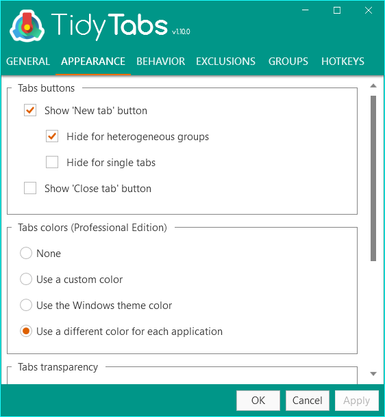 TidyTabs Professional Crack Serial Key