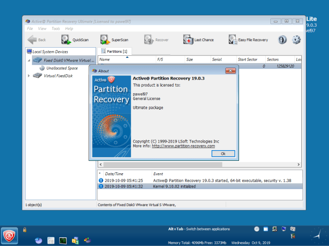 Active Partition Recovery Ultimate 19 WinPE Full Version