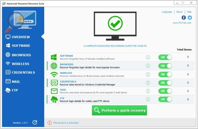 Advanced Password Recovery Suite Crack Serial Key