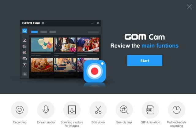 The intuitive UI allows anyone to use GOM Cam easily. GOM Cam saves you time and effort by helping you get straight to recording wonderful videos. Share your videos on YouTube or Facebook, so more of your friends can enjoy your creations. You can also upload your videos to Google Drive or attach your files to emails and documents. Recorded videos can be edited on GOM Cam instantly. Select as many sections as you like and set a background music to bring your video to the next level. You can set tags (keywords) for saved files in the file list. Search files easily using the set tags. GOM Cam is a life long product once you purchase a license, and minor updates for the purchased version are offered for free