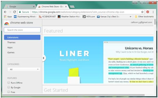Using Chrome Extensions - SenCom