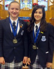 Speech winners