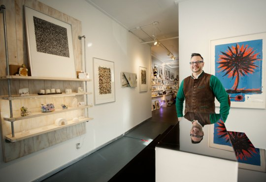 Arts News: Cerbera Breaks the Conventional Gallery Mold