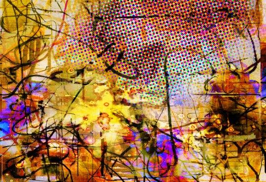 """""""The Vortex Trinity,"""" Todd Weiner Gallery"""