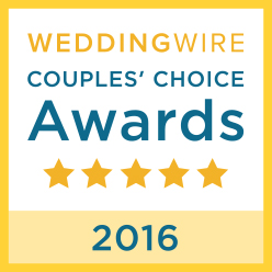 2016 Wedding Wire Couples Choice for Bartending Service