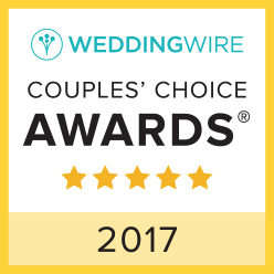 2017 Wedding Wire Couples Choice for Bartending Service