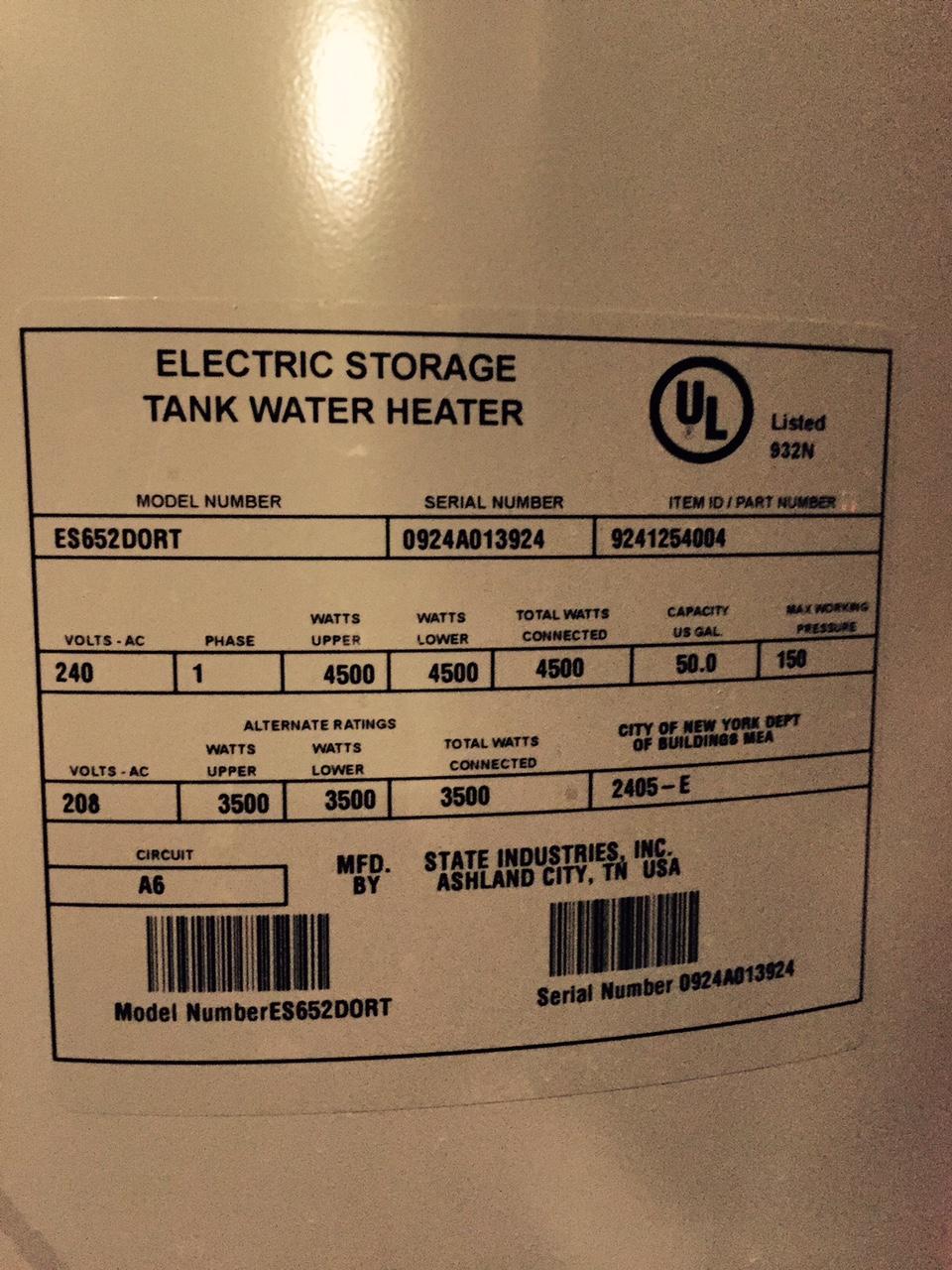 Bradford White Water Heater Date Code : bradford, white, water, heater, Bradford, White, Water, Heater