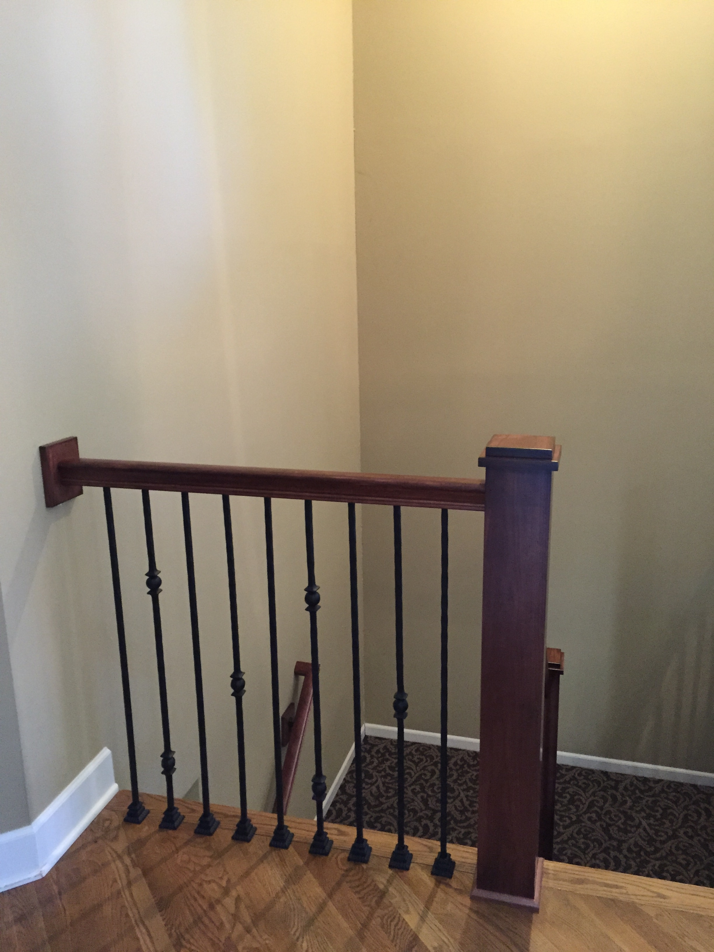 Iron Spindles Gallery Kc Wood | Iron Spindles For Sale | Contemporary | Stair | Balcony | Iron Rod | Wrought Iron