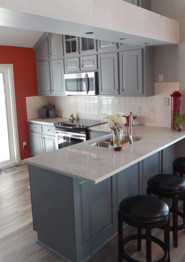 Kitchen Update in Shawnee KS  KC Wood