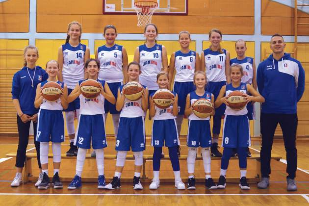 U13 ekipa KD Janina 2018-19