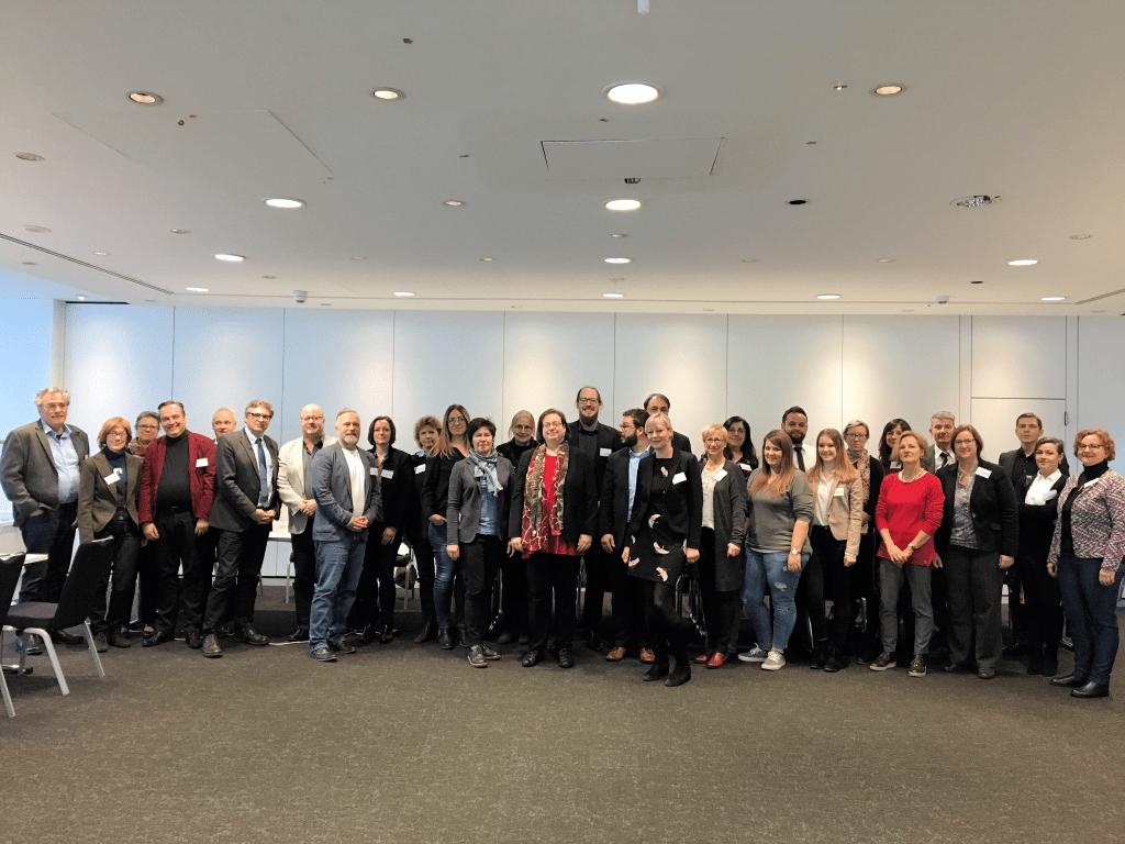 Gruppenfoto des Workshops in Köln