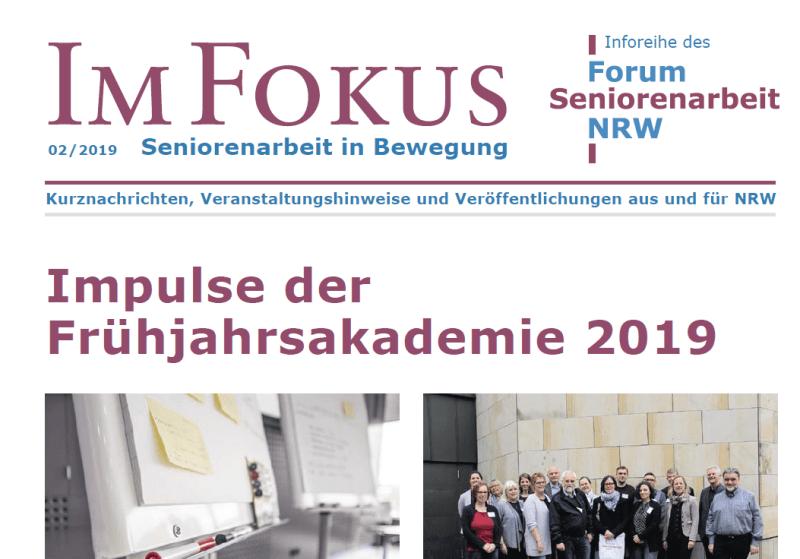 Cover im Fokus 2/2019