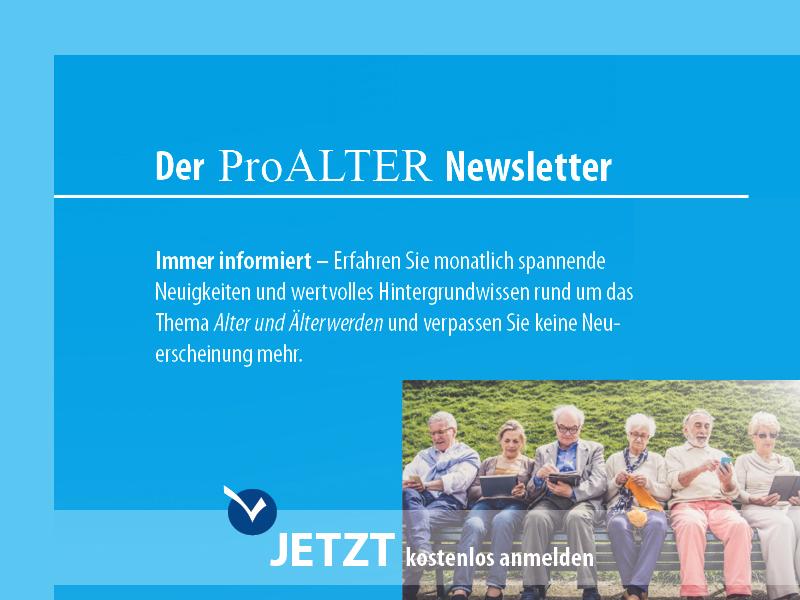 Banner Pro Alter Newsletter abonnieren