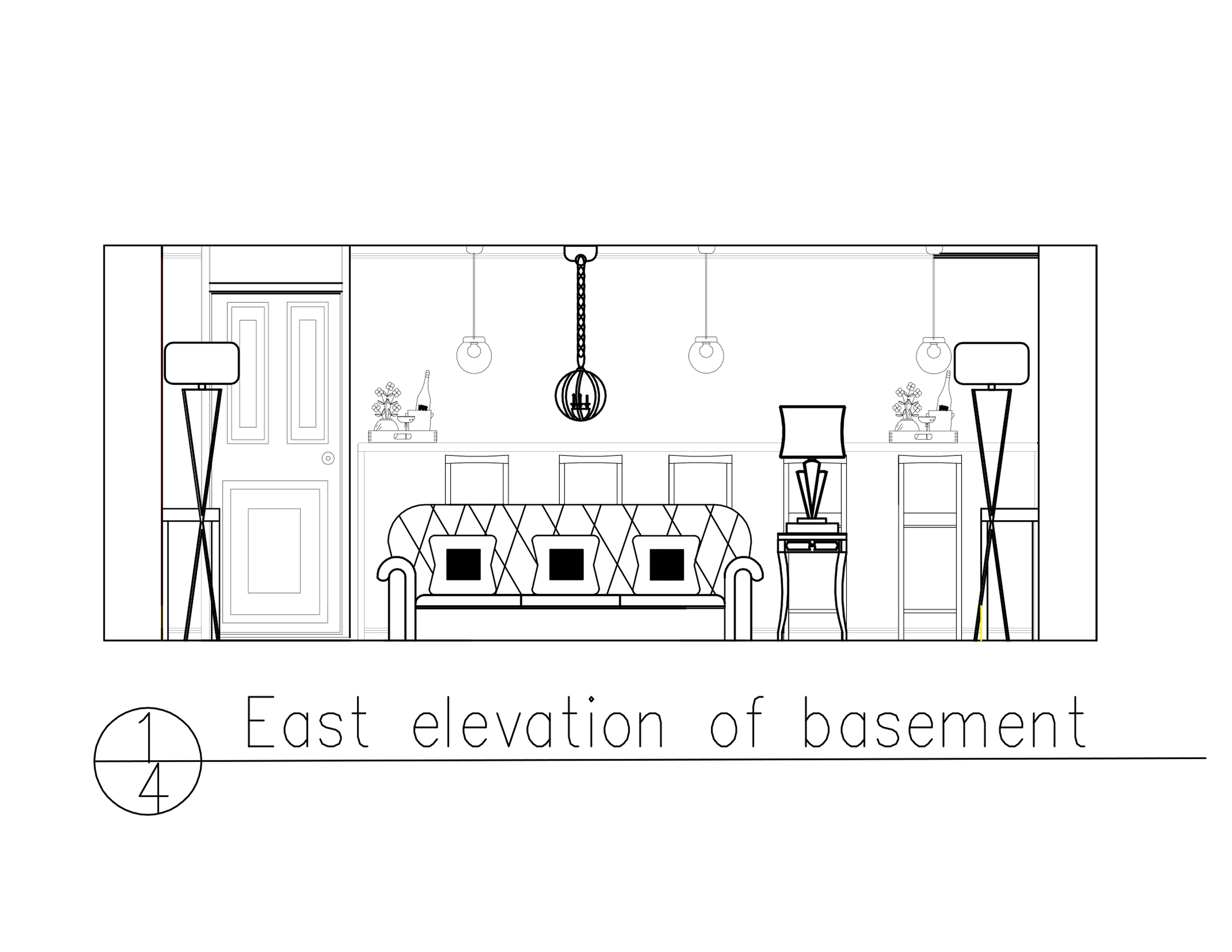 Toronto House Elevation  KDesign