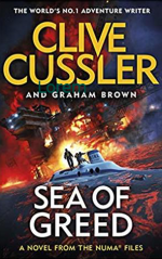 Book Review:  Clive Cussler and Graham Brown's Sea of Greed