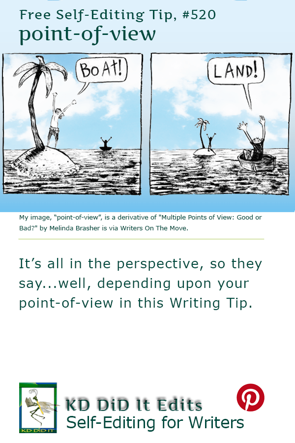 Pinterest pin for Point-of-View and Perspective