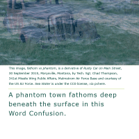 Word Confusion: Fathom versus Phantom