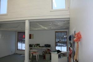 garden, paper, installation, studio