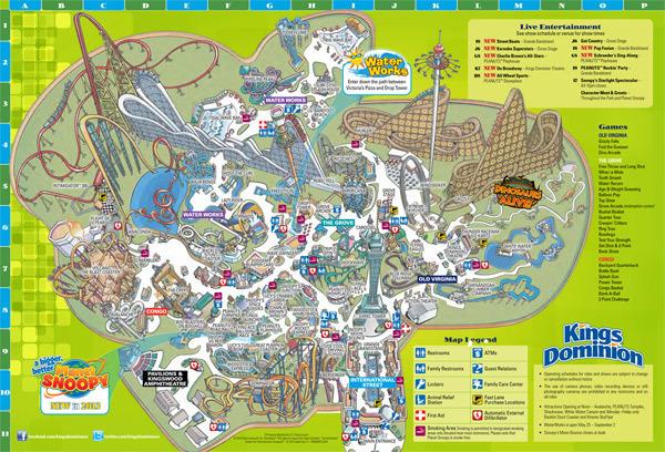 2013 Park Map