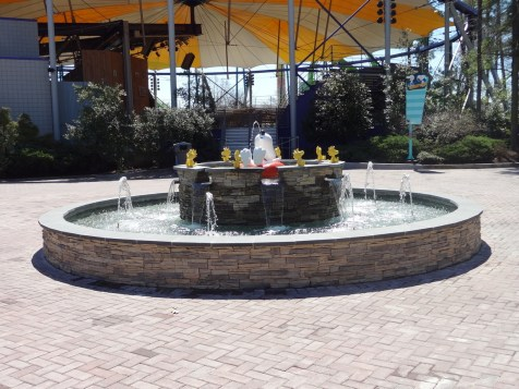 Overview of the fountain