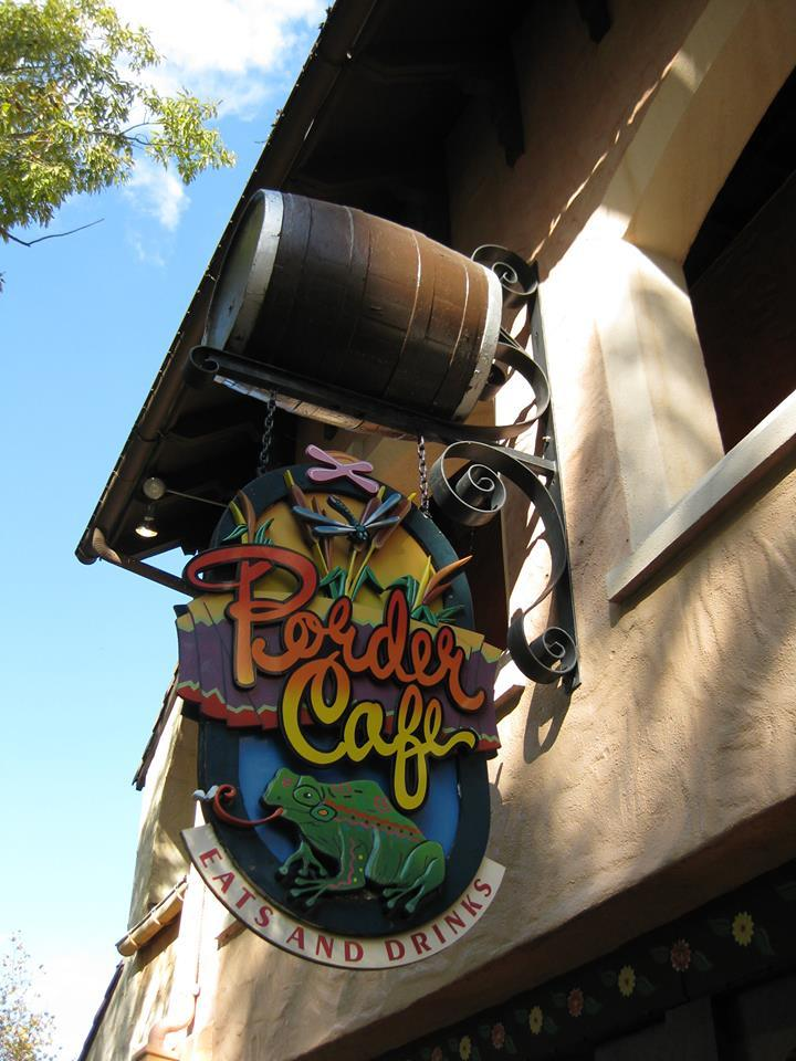 Border Cafe Sign