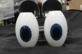 From the sounds of it, the eyes will be animated!