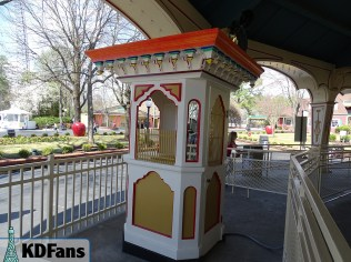 Fully refurbished ticket booth