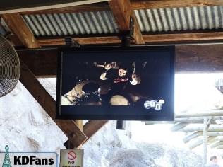 Music video in Volcano